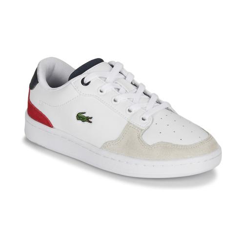 Παπούτσια Παιδί Χαμηλά Sneakers Lacoste MASTERS CUP 120 2 SUC Άσπρο / Μπλέ / Red