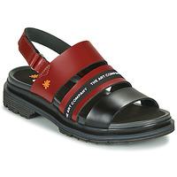 Παπούτσια Γυναίκα Σανδάλια / Πέδιλα Art BIRMINGHAM Bordeaux / Black