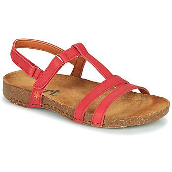 Παπούτσια Γυναίκα Σανδάλια / Πέδιλα Art I BREATHE Red