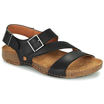Παπούτσια Σανδάλια / Πέδιλα Art I BREATHE Black