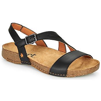 Παπούτσια Γυναίκα Σανδάλια / Πέδιλα Art I BREATHE Black