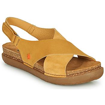 Παπούτσια Γυναίκα Σανδάλια / Πέδιλα Art RHODES Moutarde