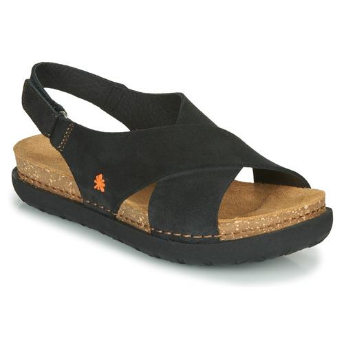 Παπούτσια Γυναίκα Σανδάλια / Πέδιλα Art RHODES Black