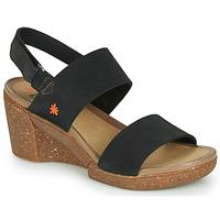 Παπούτσια Γυναίκα Σανδάλια / Πέδιλα Art ROTTERDAM Black