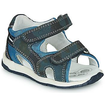 Παπούτσια Αγόρι Σπορ σανδάλια Chicco GEREMIA Μπλέ