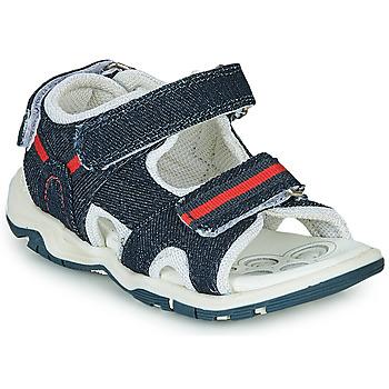 Παπούτσια Αγόρι Σπορ σανδάλια Chicco COLBY Μπλέ / Red