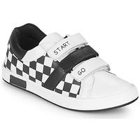Παπούτσια Αγόρι Χαμηλά Sneakers Chicco CANDITO Άσπρο / Black