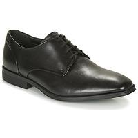 Παπούτσια Άνδρας Derby Clarks GILMAN PLAIN Black