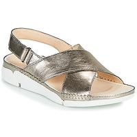 Παπούτσια Γυναίκα Σανδάλια / Πέδιλα Clarks Tri Alexia Silver