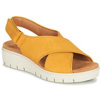 Παπούτσια Γυναίκα Σανδάλια / Πέδιλα Clarks UN KARELY SUN Moutarde