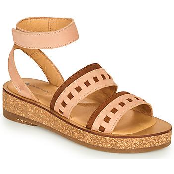 Παπούτσια Γυναίκα Σανδάλια / Πέδιλα El Naturalista TÜLBEND Ροζ / Brown