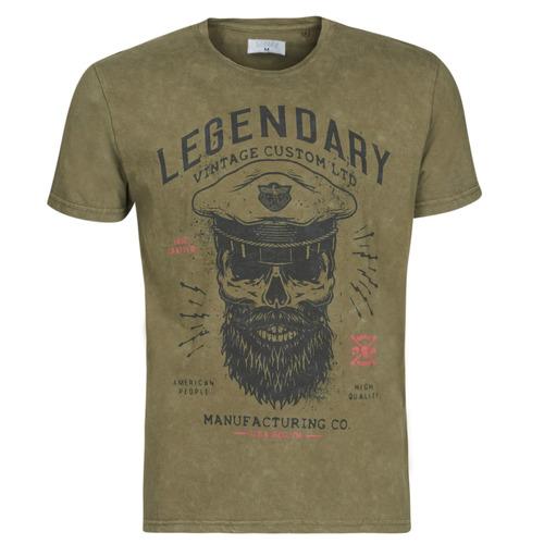 Υφασμάτινα Άνδρας T-shirt με κοντά μανίκια Yurban MCOOL Kaki