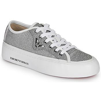Xαμηλά Sneakers Emporio Armani X3X109 XL487 ΣΤΕΛΕΧΟΣ Δέρμα και συνθετικό ΕΠΕΝΔΥΣΗ Ύφασμα ΕΣ ΣΟΛΑ Ύφασμα ΕΞ ΣΟΛΑ Καουτσούκ