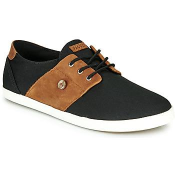 Παπούτσια Άνδρας Χαμηλά Sneakers Faguo CYPRESS Black / Brown