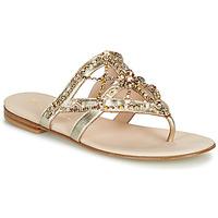 Παπούτσια Γυναίκα Σαγιονάρες Fru.it CAROTE Gold