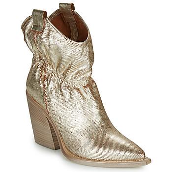 Παπούτσια Γυναίκα Μποτίνια Fru.it  Gold