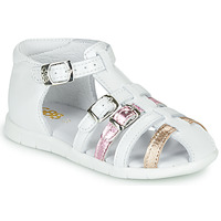 Παπούτσια Κορίτσι Σανδάλια / Πέδιλα GBB PERLE Άσπρο