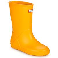 Παπούτσια Παιδί Μπότες βροχής Hunter KIDS FIRST CLASSIC Yellow