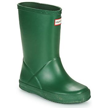 Παπούτσια Παιδί Μπότες βροχής Hunter KIDS FIRST CLASSIC Green