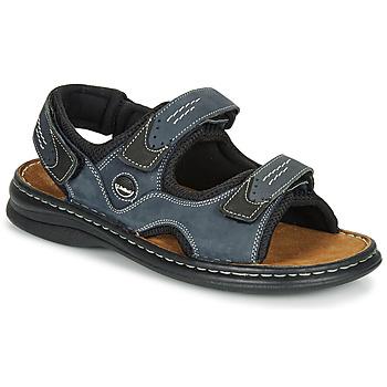 Παπούτσια Άνδρας Σπορ σανδάλια Josef Seibel FRANKLIN Μπλέ