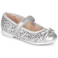 Παπούτσια Κορίτσι Μπαλαρίνες Geox JR PLIE' Silver