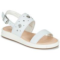 Παπούτσια Κορίτσι Σανδάλια / Πέδιλα Geox J SANDAL REBECCA GIR Άσπρο