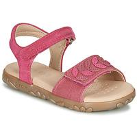 Παπούτσια Κορίτσι Σανδάλια / Πέδιλα Geox J SANDAL HAITI GIRL Fuchsia