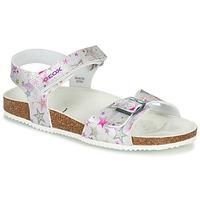 Παπούτσια Κορίτσι Σανδάλια / Πέδιλα Geox ADRIEL GIRL Silver