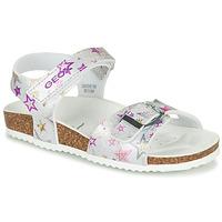 Παπούτσια Κορίτσι Σανδάλια / Πέδιλα Geox J ADRIEL GIRL Silver