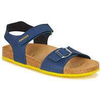 Παπούτσια Αγόρι Σανδάλια / Πέδιλα Geox GHITA BOY Μπλέ / Yellow