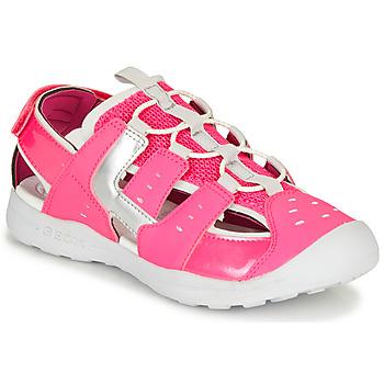 Παπούτσια Κορίτσι Σπορ σανδάλια Geox J VANIETT GIRL Ροζ / Silver