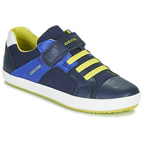 Παπούτσια Αγόρι Χαμηλά Sneakers Geox J GISLI BOY Marine / Yellow
