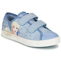 Παπούτσια Κορίτσι Χαμηλά Sneakers Geox JR CIAK GIRL Μπλέ