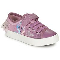 Παπούτσια Κορίτσι Χαμηλά Sneakers Geox JR CIAK GIRL Violet