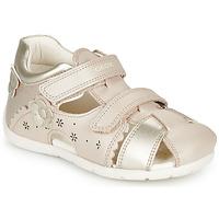 Παπούτσια Κορίτσι Σανδάλια / Πέδιλα Geox B KAYTAN Gold / Beige