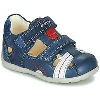 Παπούτσια Αγόρι Σανδάλια / Πέδιλα Geox B KAYTAN Μπλέ / Άσπρο / Red