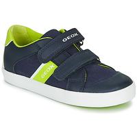 Παπούτσια Αγόρι Χαμηλά Sneakers Geox B GISLI BOY Marine / Green