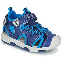 Παπούτσια Αγόρι Σπορ σανδάλια Geox B SANDAL MULTY BOY Μπλέ