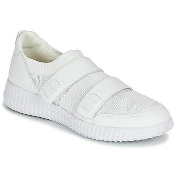 Παπούτσια Γυναίκα Χαμηλά Sneakers Geox D NOVAE Άσπρο