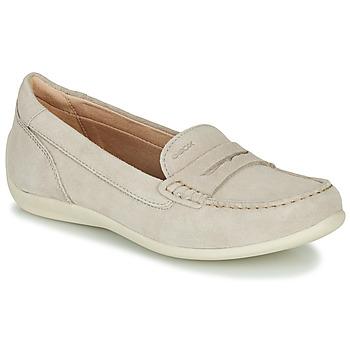Παπούτσια Γυναίκα Μοκασσίνια Geox D YUKI Beige