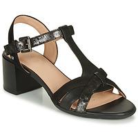 Παπούτσια Γυναίκα Σανδάλια / Πέδιλα Geox D MARYKARMEN MID SAN Black
