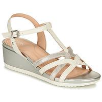 Παπούτσια Γυναίκα Σανδάλια / Πέδιλα Geox D ISCHIA Άσπρο / Silver