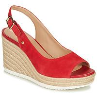 Παπούτσια Γυναίκα Χαμηλά Sneakers Geox D PONZA Red