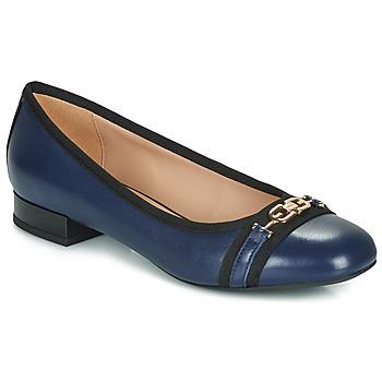 Παπούτσια Γυναίκα Μπαλαρίνες Geox D WISTREY Marine / Black