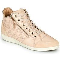 Παπούτσια Γυναίκα Ψηλά Sneakers Geox D MYRIA Beige