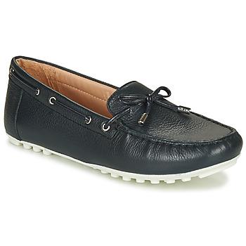 Παπούτσια Γυναίκα Χαμηλά Sneakers Geox D LEELYAN Μπλέ / Marine
