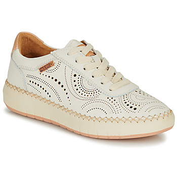 Παπούτσια Γυναίκα Χαμηλά Sneakers Pikolinos MESINA W6B Άσπρο / Ροζ
