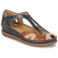 Παπούτσια Γυναίκα Σανδάλια / Πέδιλα Pikolinos CADAQUES W8K Μπλέ / Camel