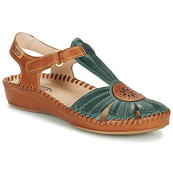 Παπούτσια Γυναίκα Σανδάλια / Πέδιλα Pikolinos P. VALLARTA 655 Camel / Green