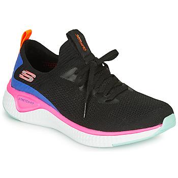 Παπούτσια Γυναίκα Fitness Skechers SOLAR FUSE Black / Ροζ / Μπλέ